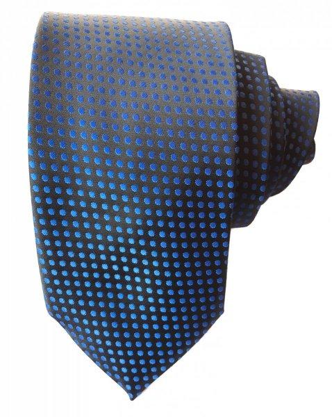 Cravatta uomo nera - Cravatta a pois - Cravatta elegante - Accessori - Gogolfun.it