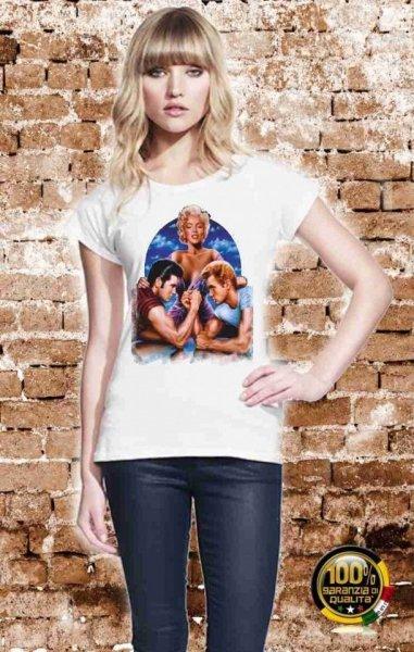 T shirt bianca - Vintage - Presley - Maglietta Gogolfun.it