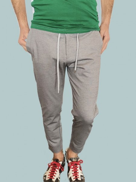 Pantaloni sportivi uomo - Pantaloni grigi - Gogolfun.it