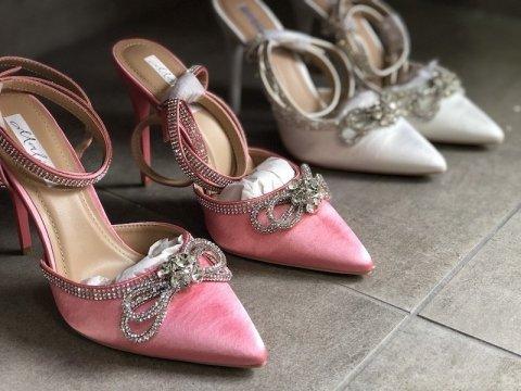 Sandali gioiello donna - Bianchi