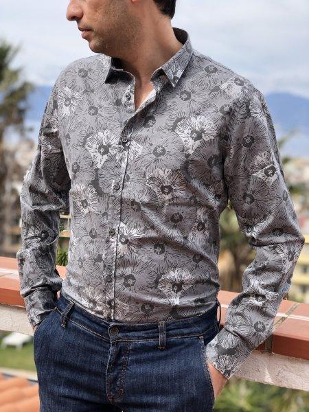 Koszule męskie z długim rękawem - Odzież męska - Gogolfun.it