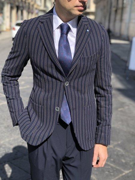 Primo Emporio - Giacca uomo - Blazer blu - Abbigliamento online Gogolfun.it