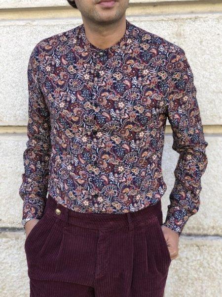 Camicie, fantasia fiori - Abbigliamento uomo Gogolfun.it