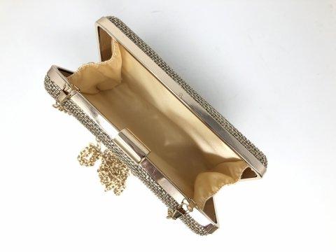 Pochette oro - Borse donna gogolfun.it