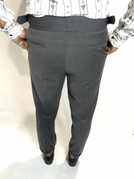 Pantaloni, grigi - Gogolfun.it