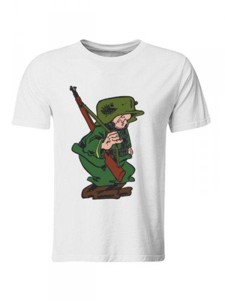 T shirt - Sturmtruppen - Bianca - Gogolfun.it