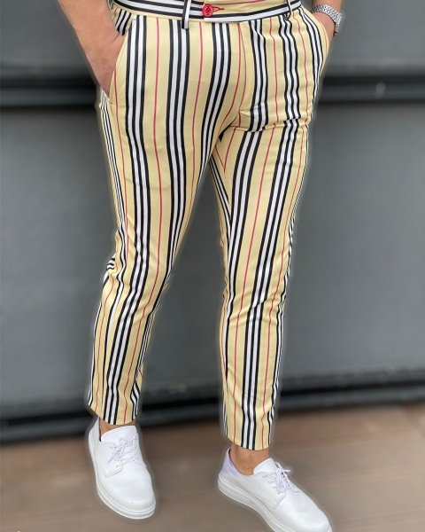 Pantaloni uomo particolari, Eleganti e slim - Gogolfun.it