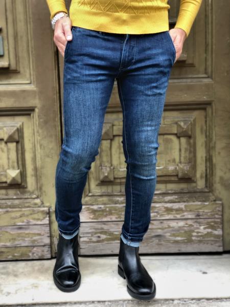 Jeans uomo - Key Jey - Skinny - Jeans key jey - Abbigliamento online - Gogolfun.it