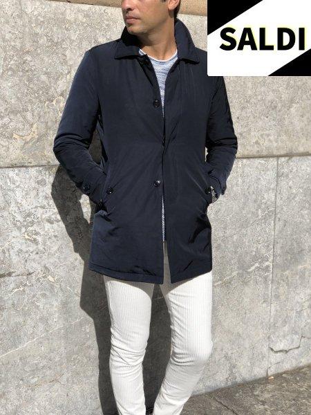Trench uomo - Cappotto uomo - Blu - Abbigliamento online - Gogolfun.it