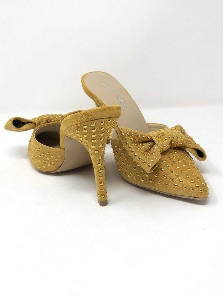 Scarpe donna - Gialle - Tacco alto