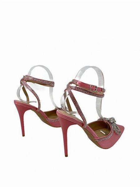 Sandali gioiello donna - Bianchi  - Sandali gioiello -  Tacchi alti  - Gogolfun.it