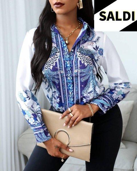 Blusa - Blusa donna - Blusa elegante bianca - Camicie donna online Gogolfun.it