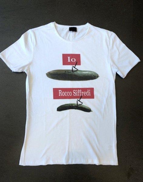 Tshirt uomo - Maglietta bianca con stampa - Gogolfun.it