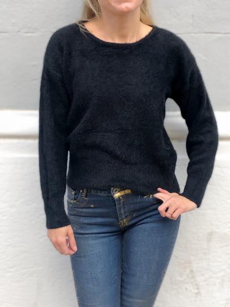 Maglione donna - Pullover donna nero - Maglioni caldi - Abbigliamento gogolfun.it