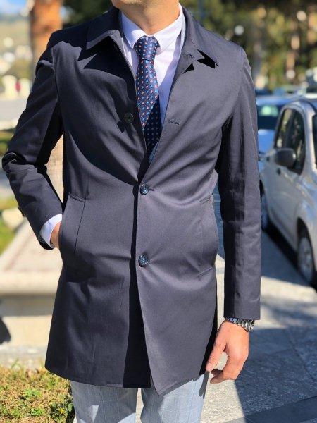 Soprabito uomo - Blu - Gogolfun.it