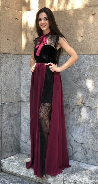Vestiti eleganti - Abiti lunghi - Con pizzo - Gogolfun.it