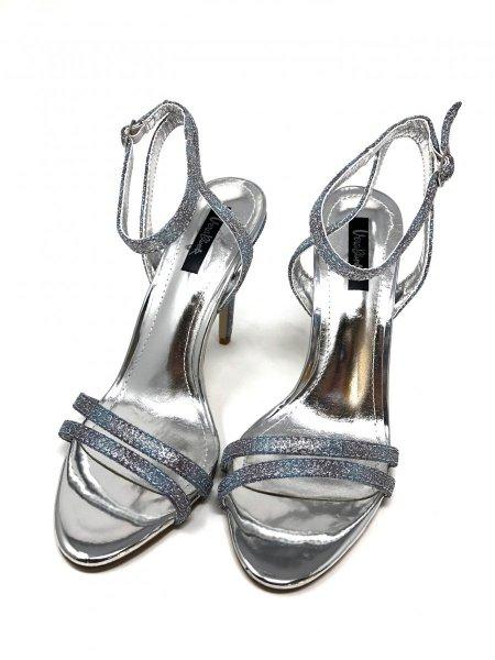 Scarpe con tacco - Sandali gioiello - Argento - Gogolfun.it