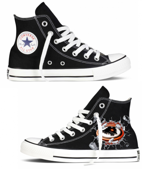 Sneakers nera - Roma - Converse -Gogolfun.it
