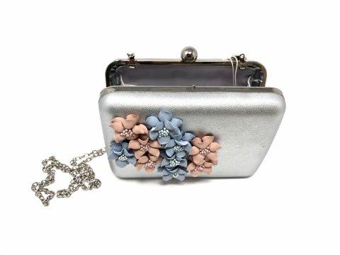 Pochette argento - Borsa elegante - Gogolfun.it