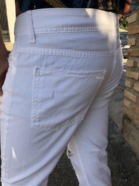 Jeans uomo bianchi - Jeans uomo gogolfun.it