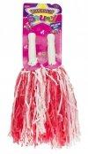 Pompony Cheerleaderskie 2sztuki mix kolor