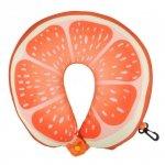 Poduszka podróżna owoce pomarańcza