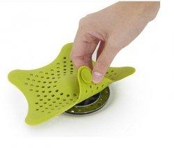 Filtro sitko silikonowe do zlewu umywalki wanny