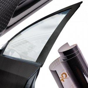 Folia rolka carbon 5D czarna 1,52x18m