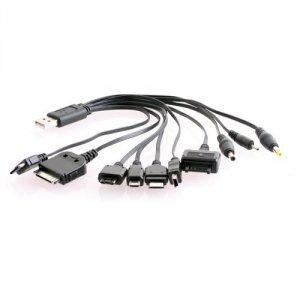 Kabel z końcówkami 10w1