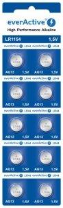 Bateria everActive Alkaline G13 LR44 LR1154 blister 10szt.