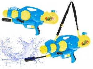 Pistolet na wodę wyrzutnia wodna 2400ml XXL niebieski