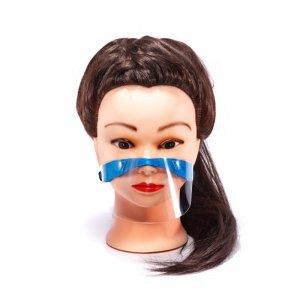Półprzyłbica maska mini przyłbica dla dzieci niebi