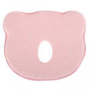 Poduszka korekcyjna dla niemowląt miś różowa