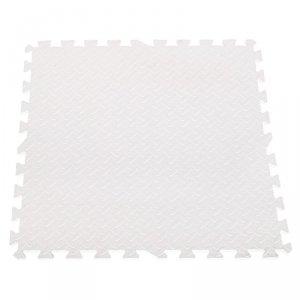 Puzzle piankowe mata dla dzieci białe 60x60 4szt