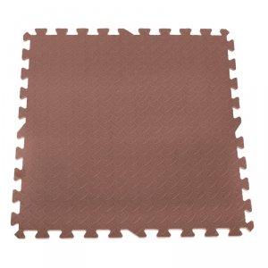Puzzle piankowe mata dla dzieci brązowe 60x60 1szt