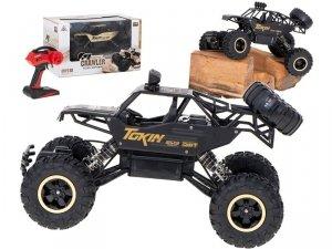 Samochód RC Rock Crawler 1:12 4WD METAL czarny