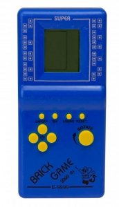 Gra Gierka Eletroniczna Tetris 9999in1 niebieska