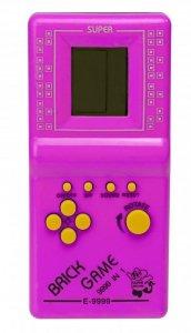 Gra Gierka Eletroniczna Tetris 9999in1 różowa