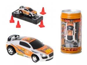 Samochód RC puszka mini 9020b 2,4GHz pomarańczowy