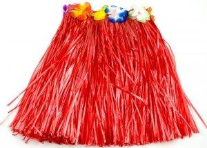 Spódniczka Hula 40cm czerwona