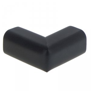 Zabezpieczenie narożników piankowe 6x4x5cm czarny (50sztuk)