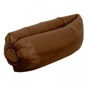 Lazy Bag SOFA materac LEŻAK na POWIETRZE brązowy
