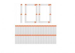 Strzałki do wyrzutni NERF fluorescencyjne 100sztuk