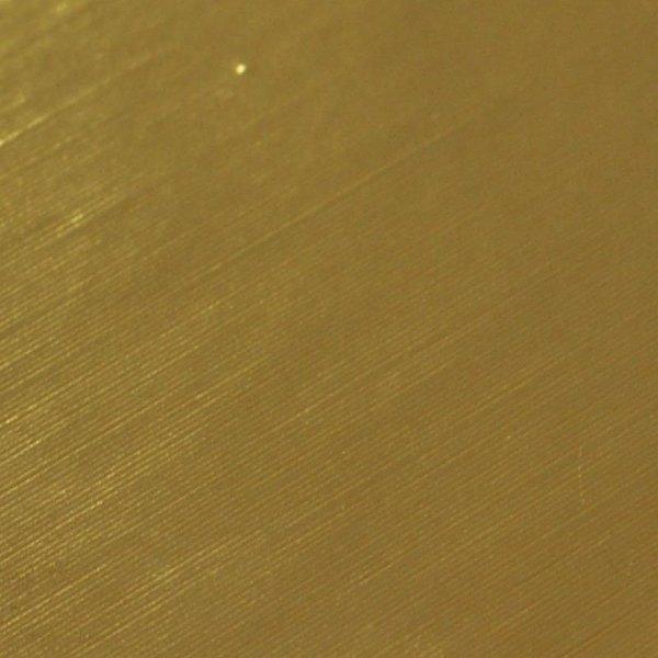 Folia odcinek błyszcz szczotkowana złota 1,52x0,1m