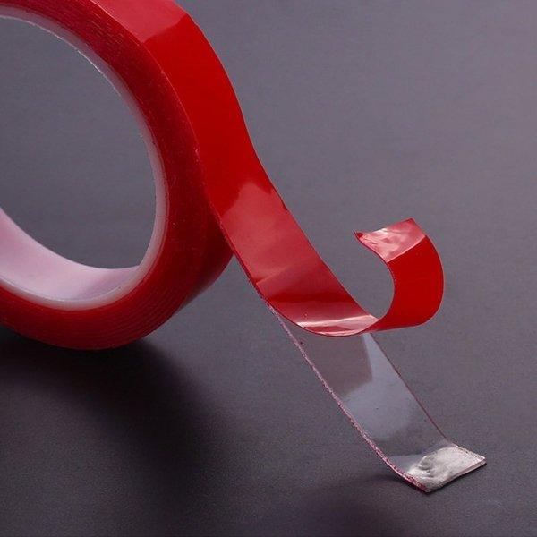 Taśma akrylowa dwustronna montażowa transparentna mocna 15mmx3m