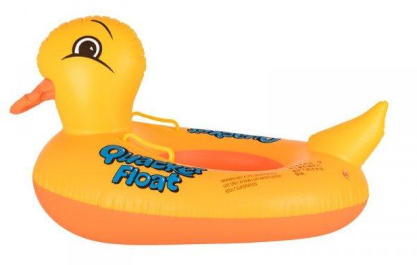 Materac dmuchany pontonik koło dla dzieci kaczka