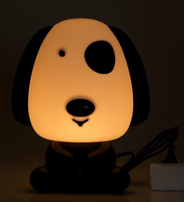 Lampka nocna dekoracyjna Piesek