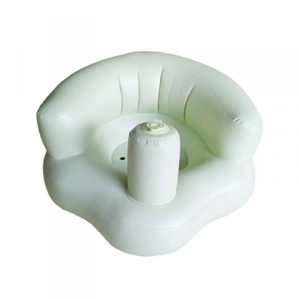 Krzesełko dla niemowląt fotelik nadmuchiwany zielony