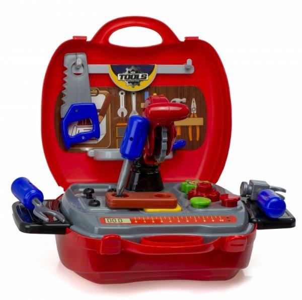 Zestaw skrzynka z narzędziami - Walizka autobus 19