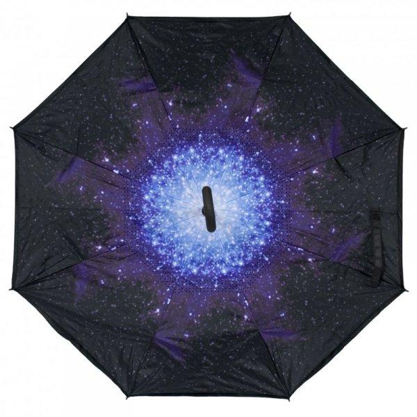 Parasol odwrotnie otwierany składany galaktyka